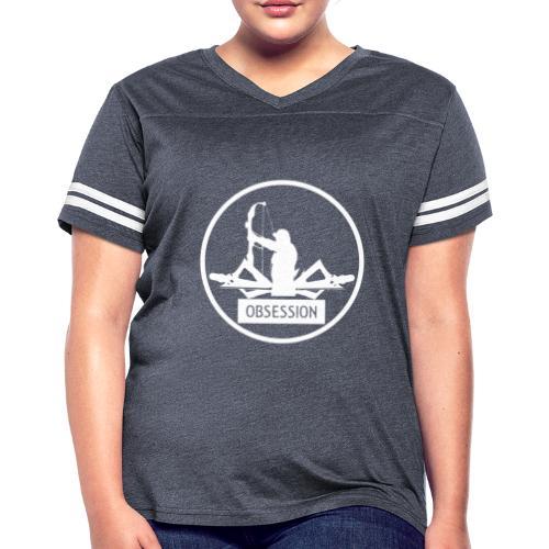 Reel Hunt Bow Hunting T Shirt - Women's Vintage Sport T-Shirt