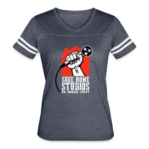 Save Home Studios In Music City - Women's Vintage Sport T-Shirt
