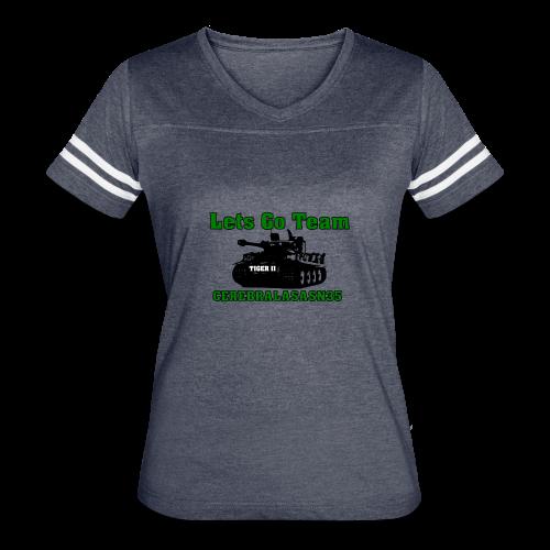LETS GO TEAM - Women's Vintage Sport T-Shirt