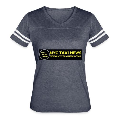 NYC TAXI NEWS - Women's Vintage Sport T-Shirt