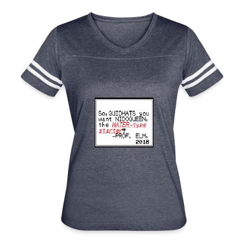 QuidHats's Starter - Women's Vintage Sport T-Shirt