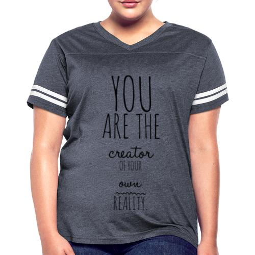 You are the Creator 2.0 - Women's Vintage Sport T-Shirt