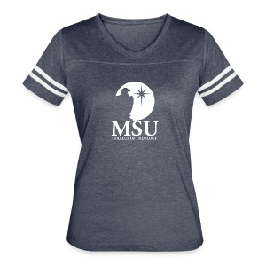 MorningStar College Theology - Women's Vintage Sport T-Shirt