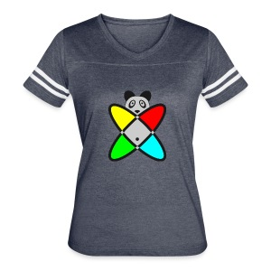 SCIENCE PANDA - Women's Vintage Sport T-Shirt