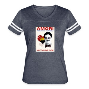 Amori for Mayor of Los Angeles eco friendly shirt - Women's Vintage Sport T-Shirt