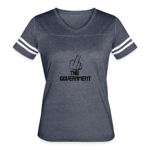 Fuck The Government - Women's Vintage Sport T-Shirt