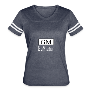 gamister_shirt_design_1_back - Women's Vintage Sport T-Shirt