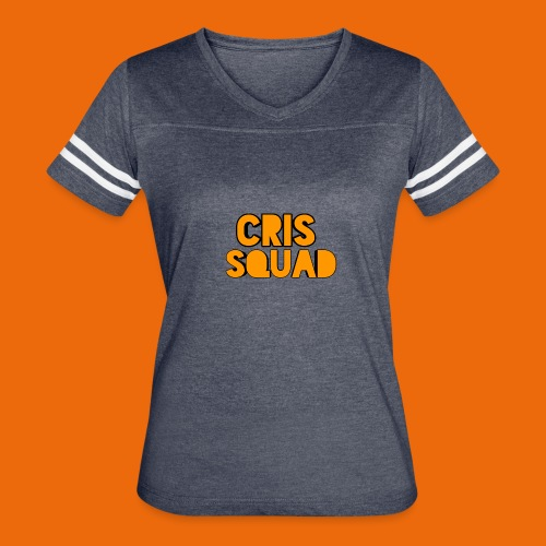 Girls crisquad t-shirt - Women's Vintage Sport T-Shirt
