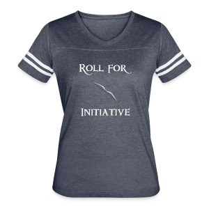 Roll For Initiative - Bow - Women's Vintage Sport T-Shirt