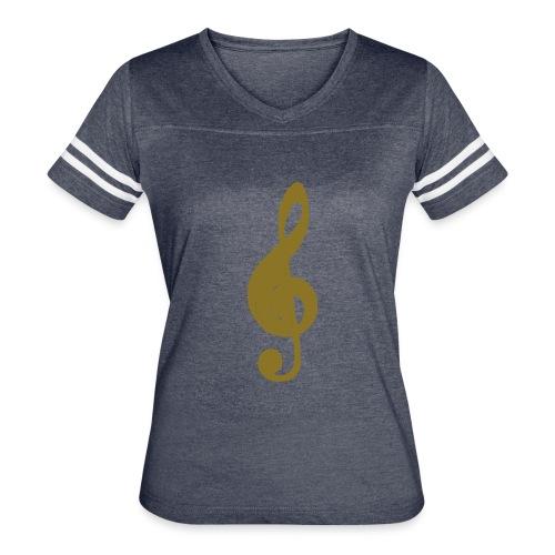 music symbol - Women's Vintage Sport T-Shirt