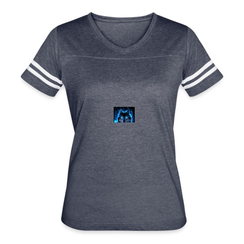 WolfanimatedbyAshley - Women's Vintage Sport T-Shirt