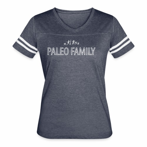 Paleo Family 3 Kids - Women's Vintage Sport T-Shirt
