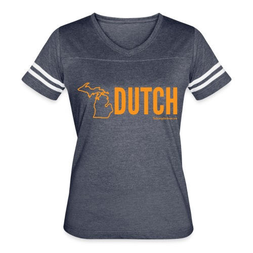 Michigan Dutch (orange) - Women's Vintage Sport T-Shirt