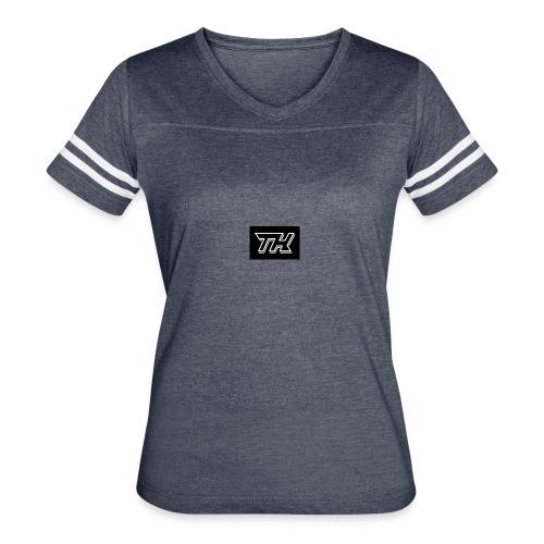 tryn hard - Women's Vintage Sports T-Shirt