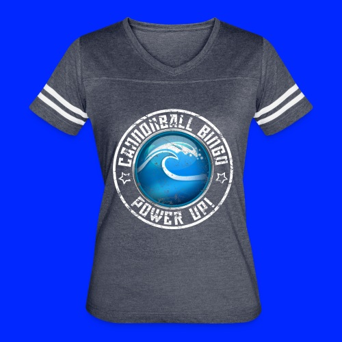 Vintage Tsunami Power-Up Tee - Women's Vintage Sport T-Shirt