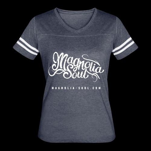 Magnolia Soul Logo - Women's Vintage Sport T-Shirt
