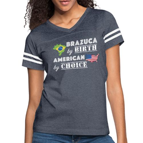 Brazuca and American - Women's Vintage Sport T-Shirt
