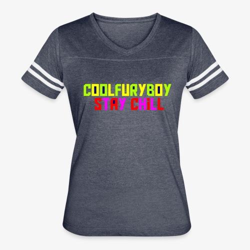 CoolFuryBoy - Women's Vintage Sport T-Shirt