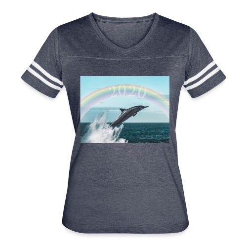 dolphin - Women's Vintage Sport T-Shirt
