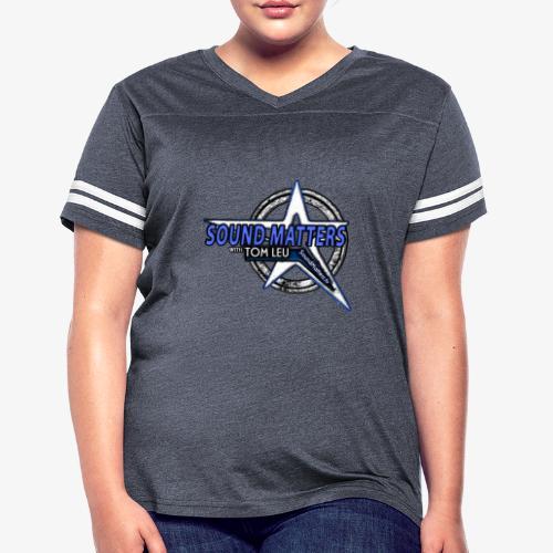 SOUND MATTERS Badge - Women's Vintage Sport T-Shirt