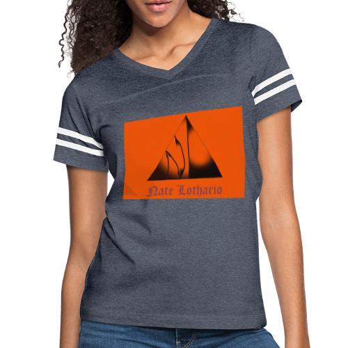 Orange Logo 2 - Women's Vintage Sport T-Shirt