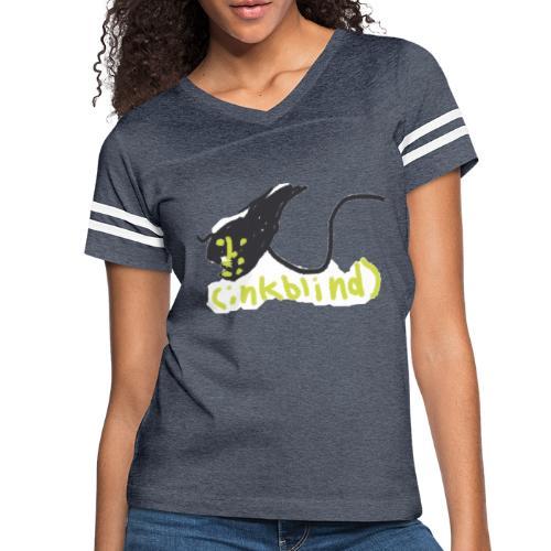 Kids funny monster ink - Women's Vintage Sport T-Shirt