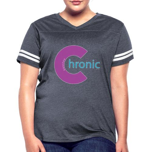 Houston Chronic - Purp C - Women's Vintage Sports T-Shirt