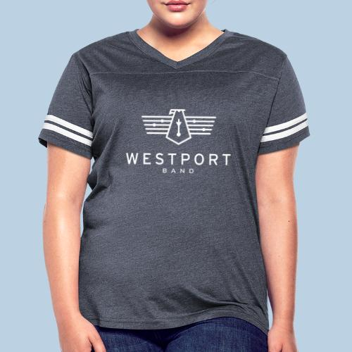 Westport Band White on transparent - Women's Vintage Sport T-Shirt