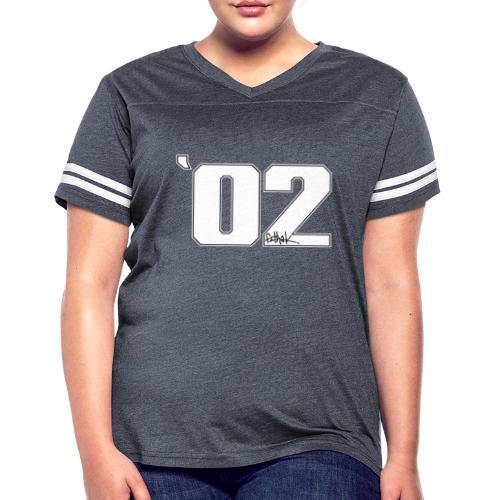 2002 (White) - Women's Vintage Sports T-Shirt