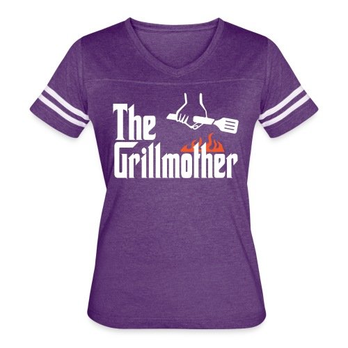 The Grillmother - Women's Vintage Sport T-Shirt
