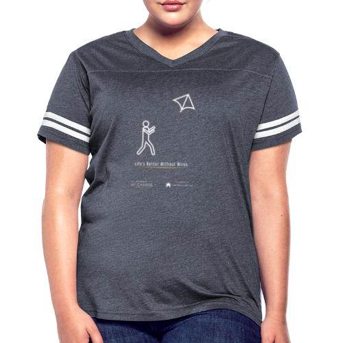 Life's better without wires: Kite - SELF - Women's Vintage Sport T-Shirt