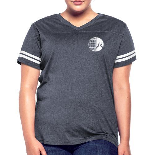 DMI Logo White - Women's Vintage Sport T-Shirt