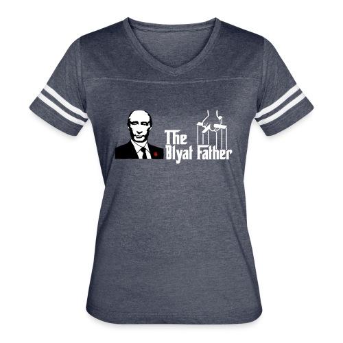 The Blyat Father - Women's Vintage Sport T-Shirt
