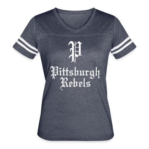 Pittsburgh Rebels - Women's Vintage Sport T-Shirt