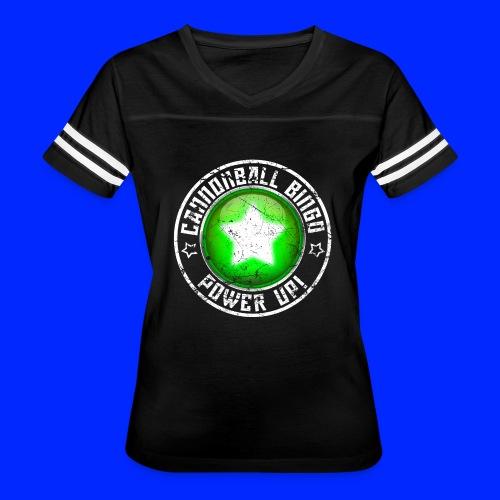 Vintage Power-Up Tee - Women's Vintage Sport T-Shirt