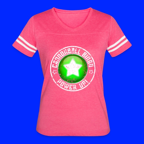 Vintage Power-Up Tee - Women's Vintage Sport T-Shirt