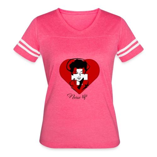 nurselife - Women's Vintage Sport T-Shirt