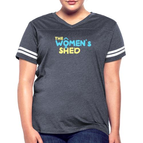'The Women's Shed' - Women's Vintage Sport T-Shirt