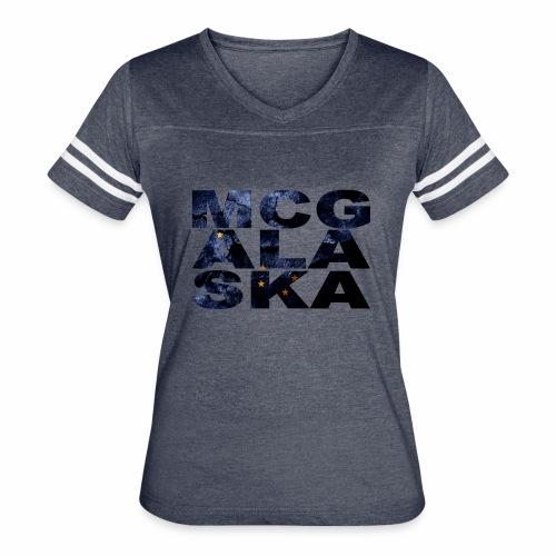 MCG ALA SKA TSHIRT DESIGN - Women's Vintage Sport T-Shirt