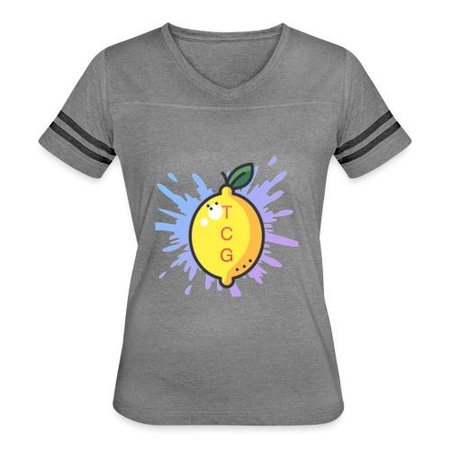 lemon splash- TCG - Women's Vintage Sports T-Shirt