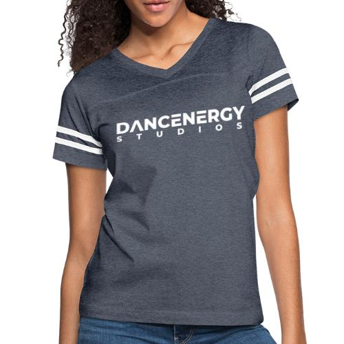 logo dancenergy 2019 white just text - Women's Vintage Sport T-Shirt