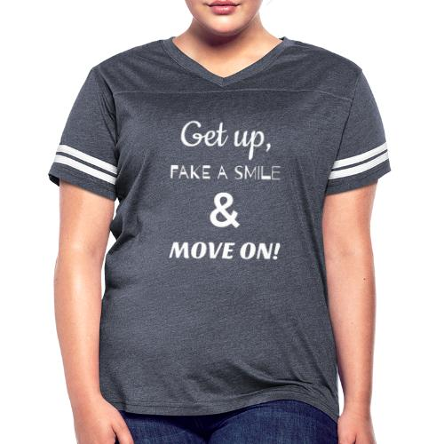 MOVE ON LYRICS FULL SIZE - Women's Vintage Sport T-Shirt