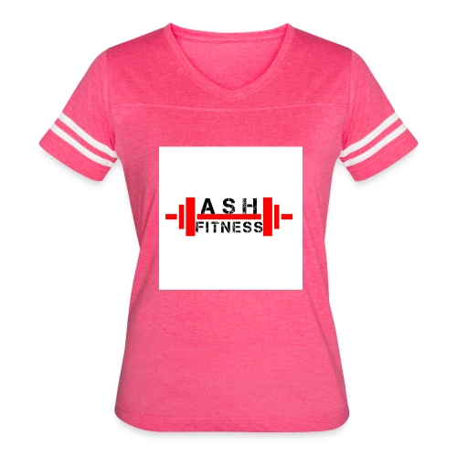 ASH FITNESS MUSCLE ACCESSORIES - Women's Vintage Sport T-Shirt