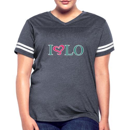 ILOVELO - Women's Vintage Sport T-Shirt