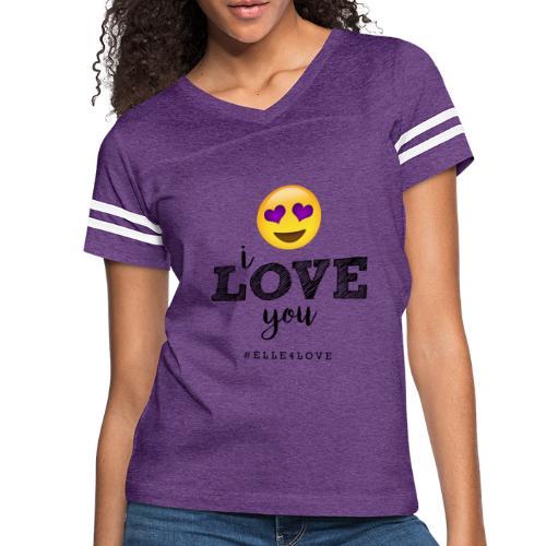 I LOVE you - Women's Vintage Sport T-Shirt