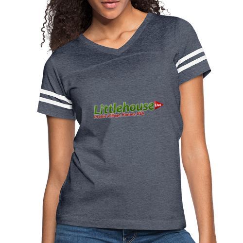 Littlehouse Logo - Women's Vintage Sport T-Shirt