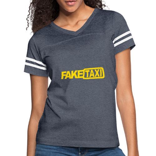 FAKE TAXI hoodie - Women's Vintage Sport T-Shirt