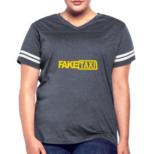 FAKE TAXI Duffle Bag - Women's Vintage Sport T-Shirt