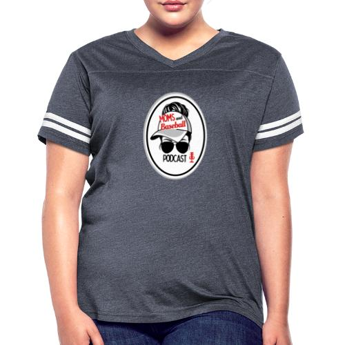 Moms and Baseball - Women's Vintage Sport T-Shirt