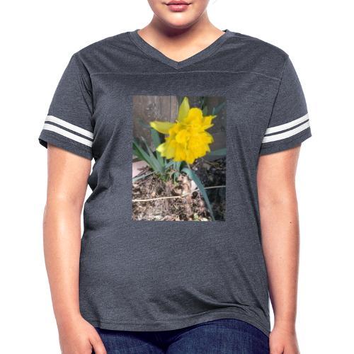 YELLOWFLOWER by S.J.Photography - Women's Vintage Sport T-Shirt